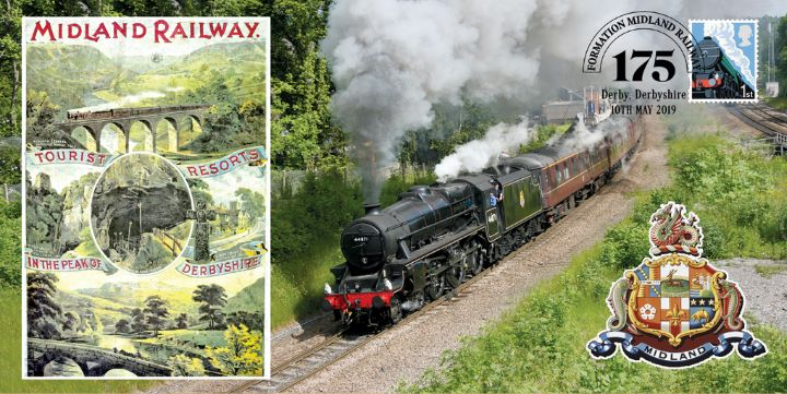 Formation of Midland Railway, 175th Anniversary