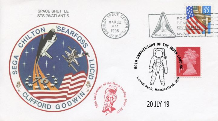 Space Shuttle, Double dated cover