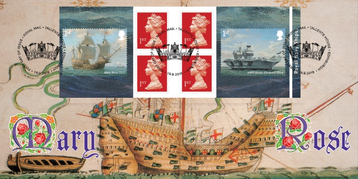 Self Adhesive: Royal Navy Ships, Mary Rose