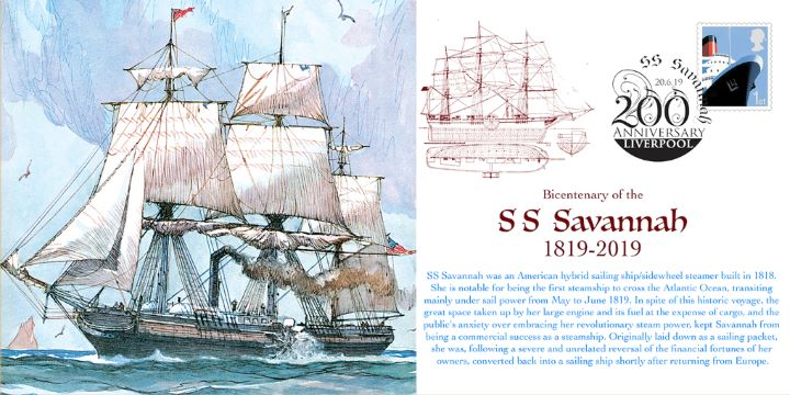 S S Savannah, 200th Anniversary