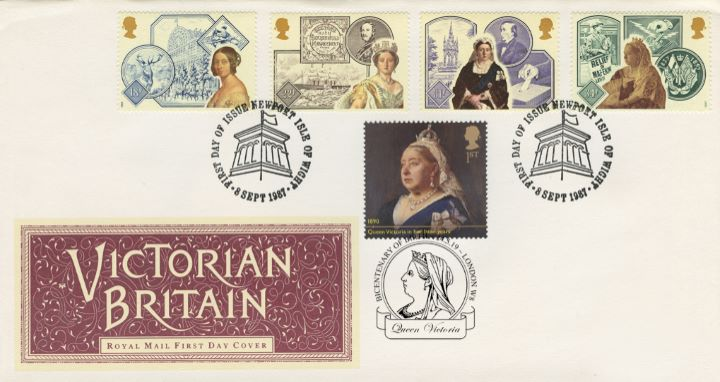 Queen Victoria, Victoria Double Dated Cover