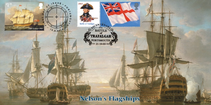 Royal Navy Ships, Nelson's Flagships