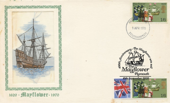 The Mayflower, Double Dated Anniversaries 350th and 400th