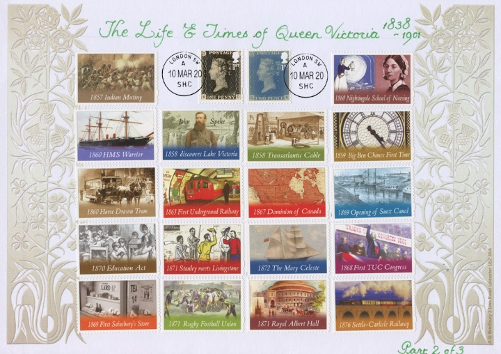 Self Adhesive: London 2020, The Life and Times of Queen Victoria Part 2