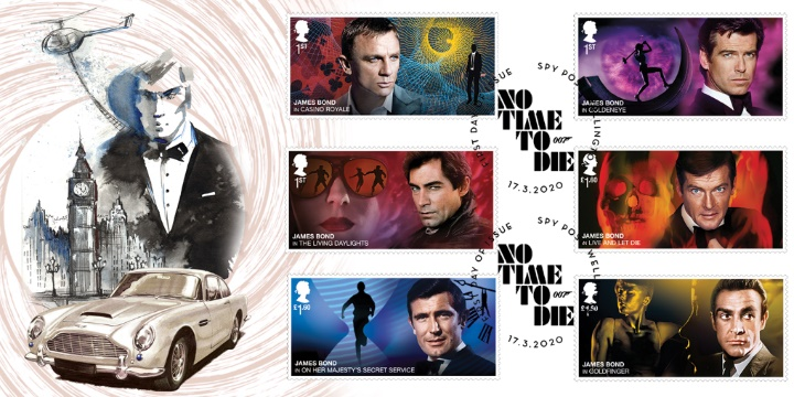 To coincide with this new issue I have designed a selection of new first day covers
