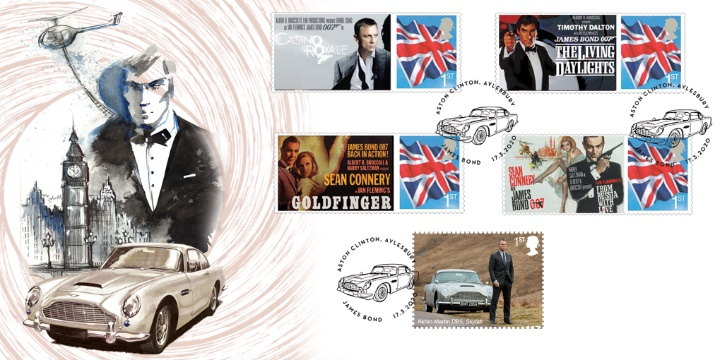 Film Posters, James Bond Film Posters