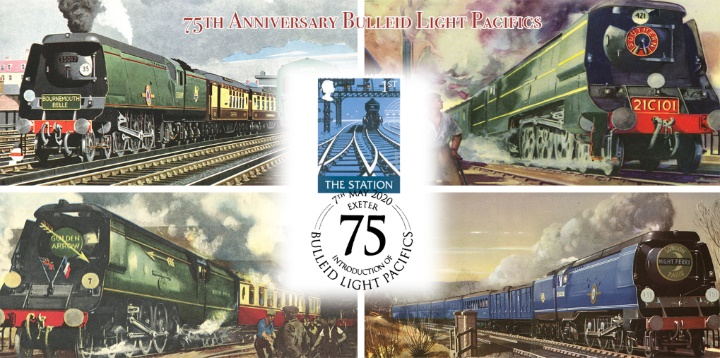 Bulleid Light Pacifics, 75th Anniversary of these locos