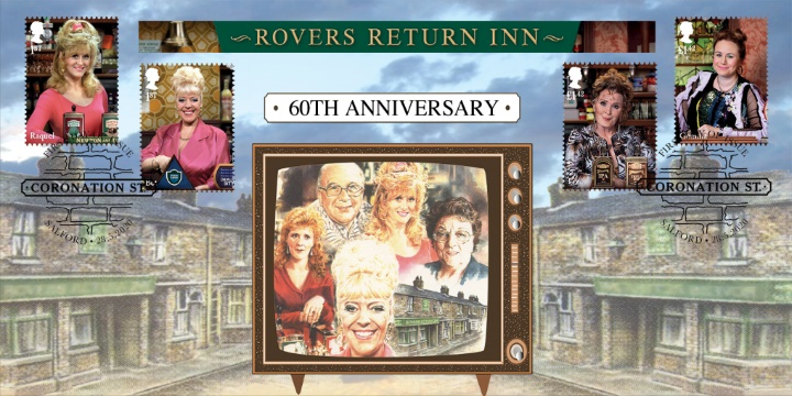 Coronation Street: Miniature Sheet, Bar Maids from years past