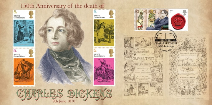 Charles Dickens, 150th Anniversary of Death