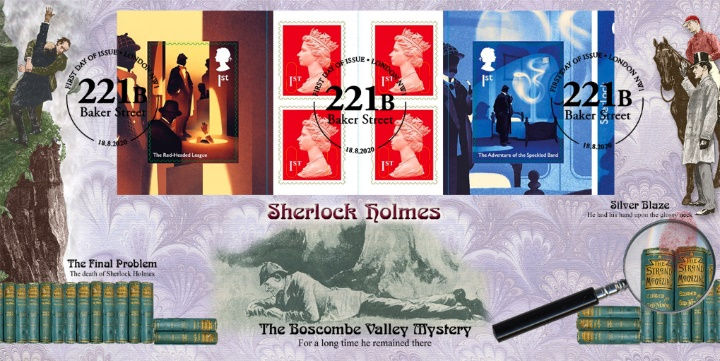 Self Adhesive: Sherlock Holmes, The Final Problem