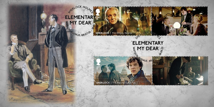 Sherlock Holmes: Generic Sheet, Stamps from Collector Sheet No.3