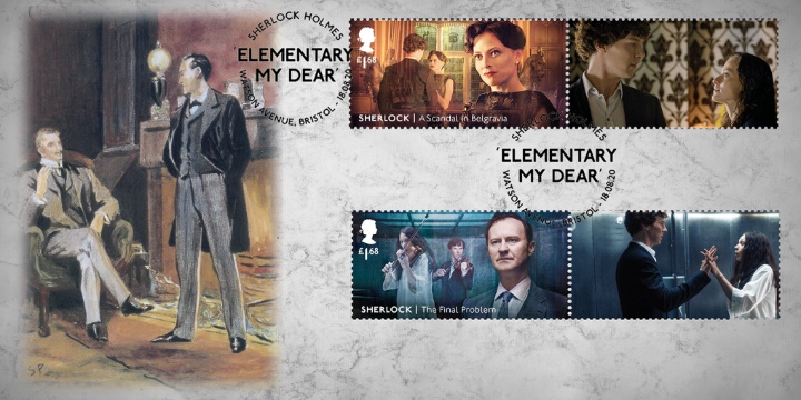 Sherlock Holmes: Generic Sheet, Stamps from Collector Sheet No.4