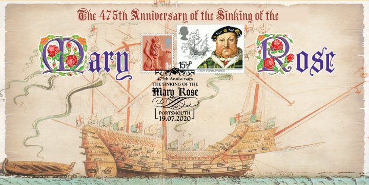 Mary Rose, 475th Anniversary of the Sinking of the Mary Rose