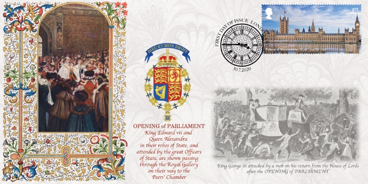 Palace of Westminster, King EdwardVII Opening of Parliament