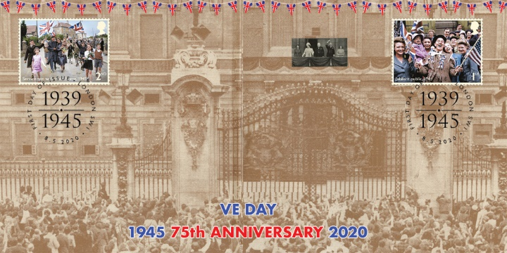 VE Day, Buckingham Palace