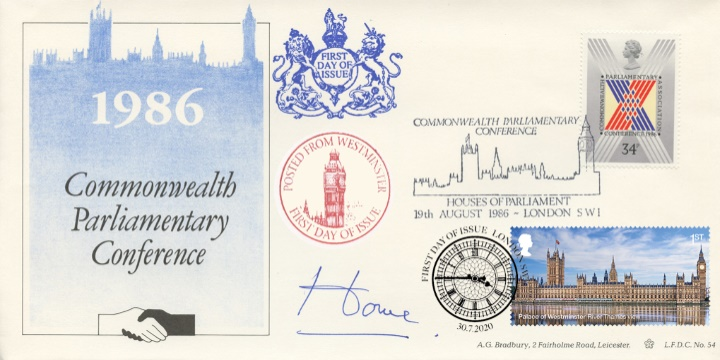 Palace of Westminster, Alec Douglas_Home Signed