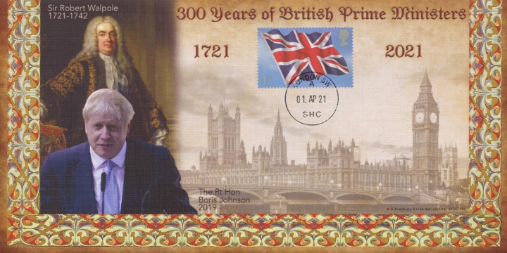 300 Years of Prime Ministers, Union Flag