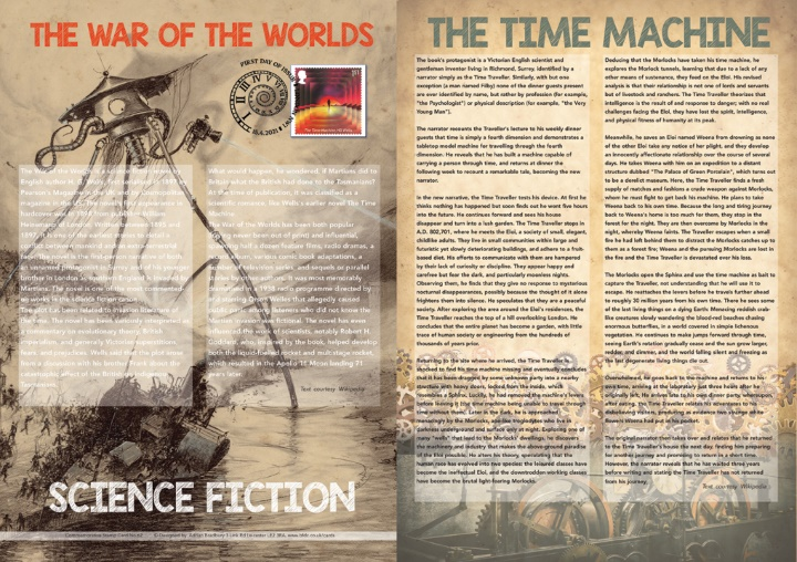 Science Fiction, War of the Worlds & The Time Machine