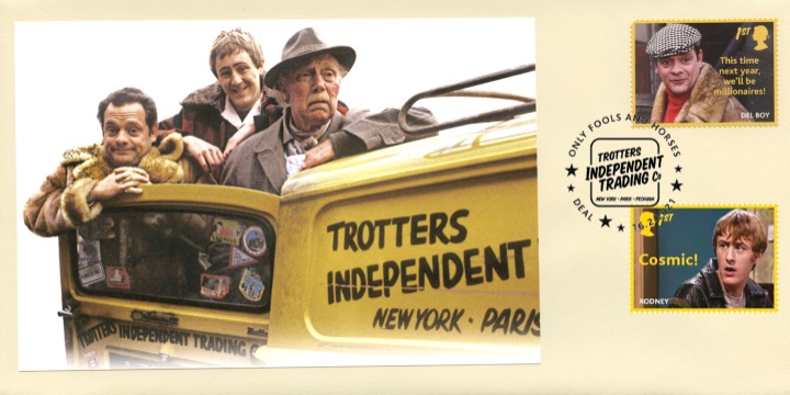 Only Fools and Horses: Generic Sheet, Independent Trading