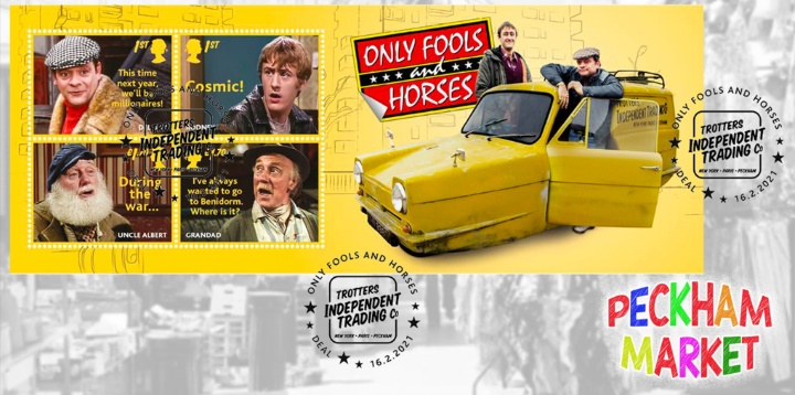 Only Fools and Horses: Miniature Sheet, Robin Reliant
