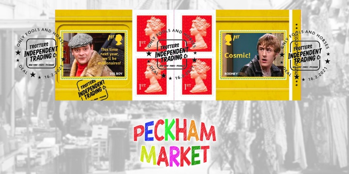Self Adhesive: Only Fools and Horses, Peckham Market RSB