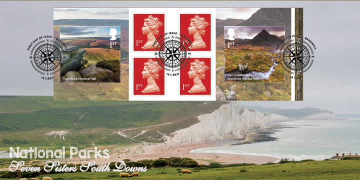 Self Adhesive: National Parks, Seven Sisters South Downs
