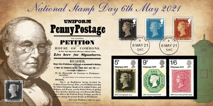 National Stamp Day, Sir Rowland Hill Penny Post