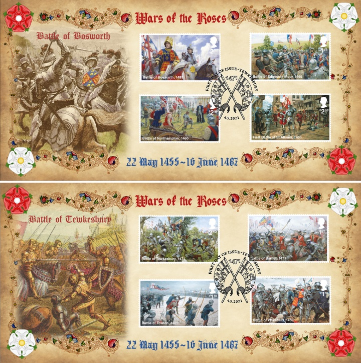 Wars of the Roses, Battle of Bosworth & Tewkesbury