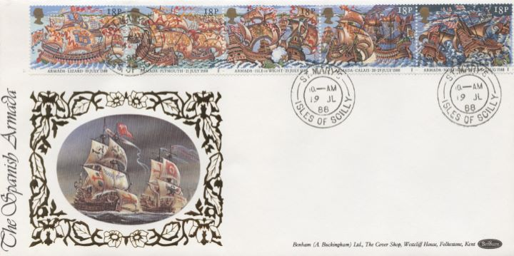 Spanish Armada, Benham Star Cover