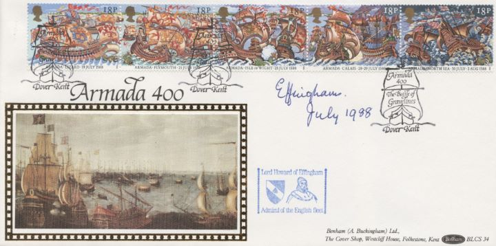Spanish Armada, Signed by Lord Effingham