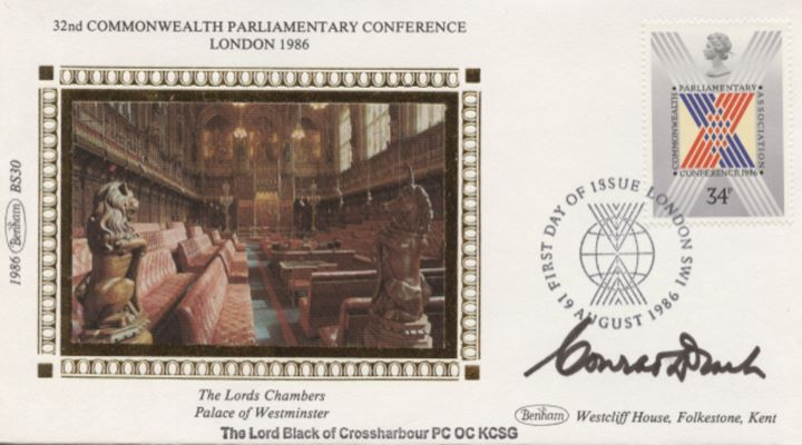Parliament 1986, The Lords Chambers