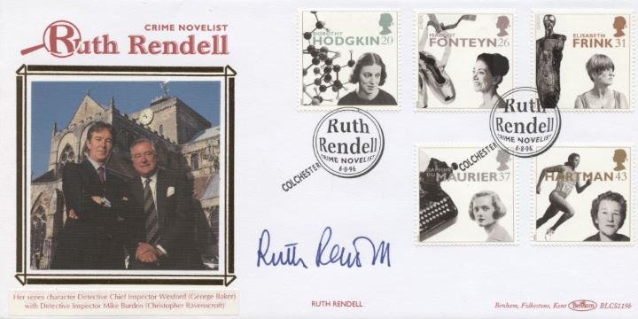 Women of Achievement, Ruth Rendell Signed