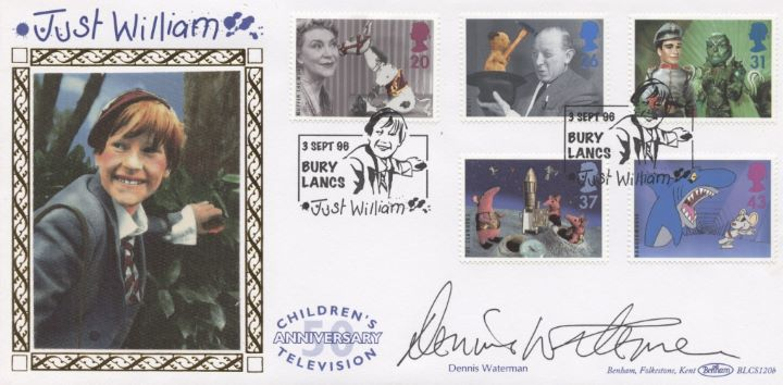 Children's Television, Dennis Waterman Signed