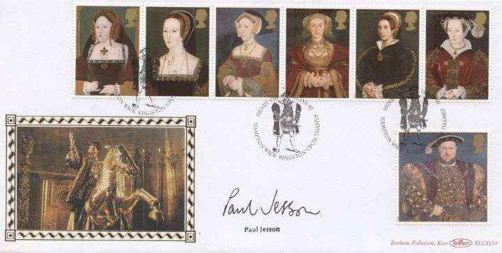 The Great Tudor, Paul Jesson signed
