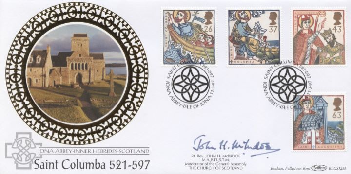 Missions of Faith, Signed cover