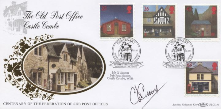 Sub-Post Offices, Signed Cover