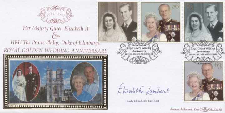 Golden Wedding, Lady Elizabeth Lambart signed
