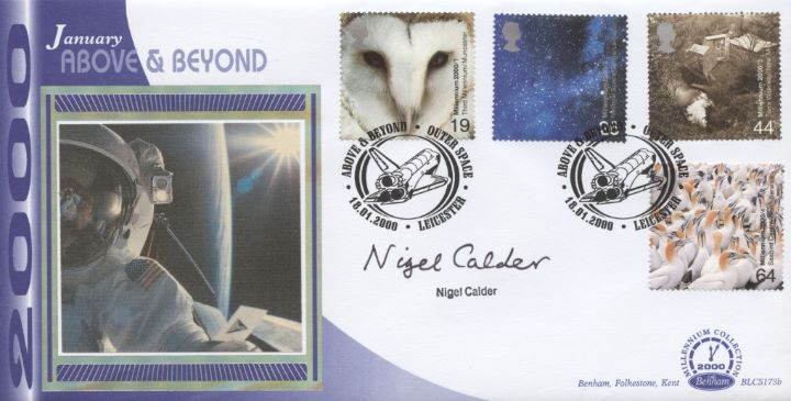 Above & Beyond, Nigel Calder signed