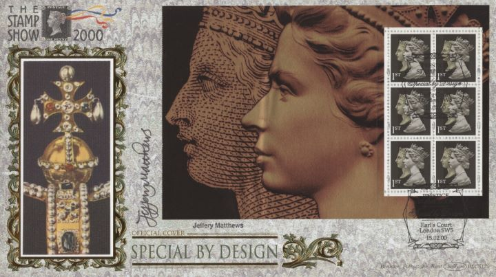 PSB: Special by Design - Pane 4, Jeffery Matthews signed