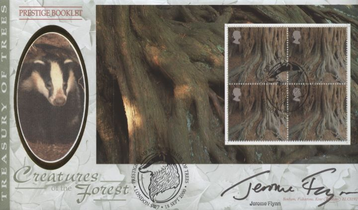PSB: A Treasury of Trees, Jerome Flynn signed