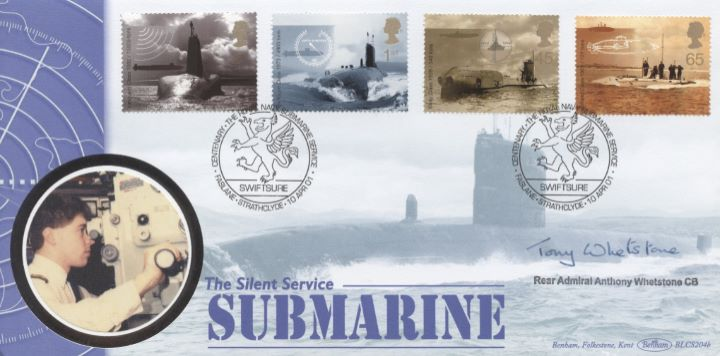 Submarines, Rear Admiral Tony Whetstone signed