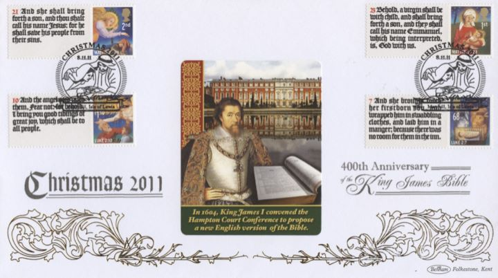 Christmas 2011: Generic Sheet, King James I