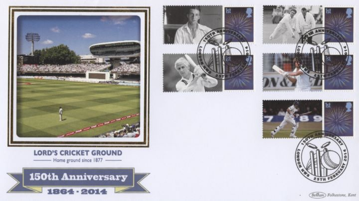 Middlesex CCC [Commemorative Sheet], Lords Cricket Ground