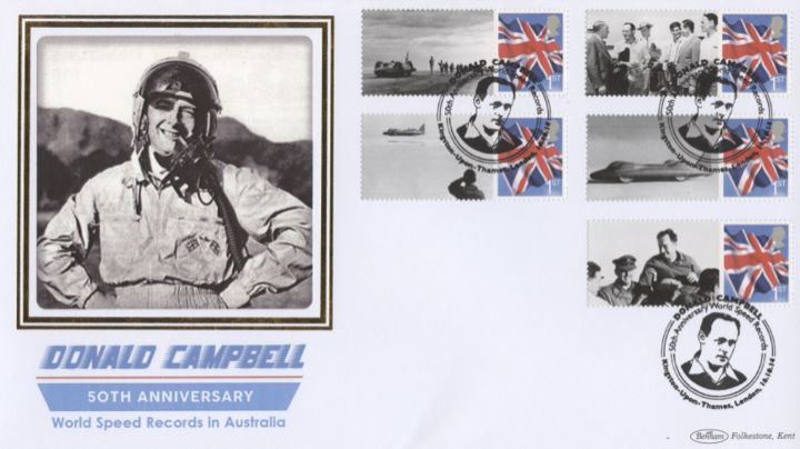 Donald Campbell [Commemorative Sheet], Donald Campbell