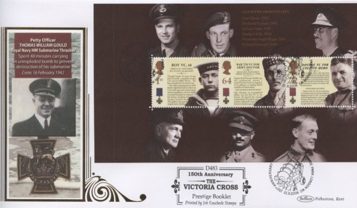 PSB: Victoria Cross - Pane 2, Thomas William Gould