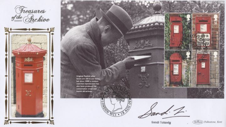 PSB: Post Boxes - Pane 3, Pillar Box