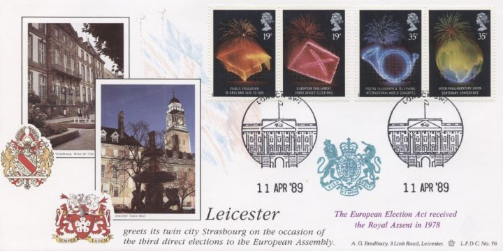 Anniversaries, Leicester Town Hall