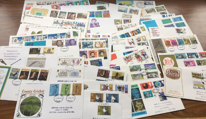 Collection of 43 GB first day covers, Stunning collection of covers in pristine condition