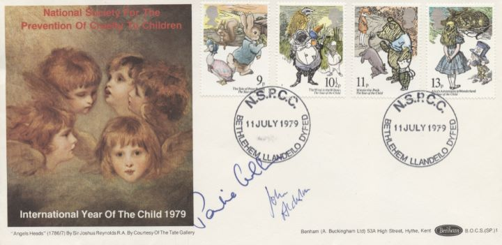 Year of the Child, Pauline Collins signed