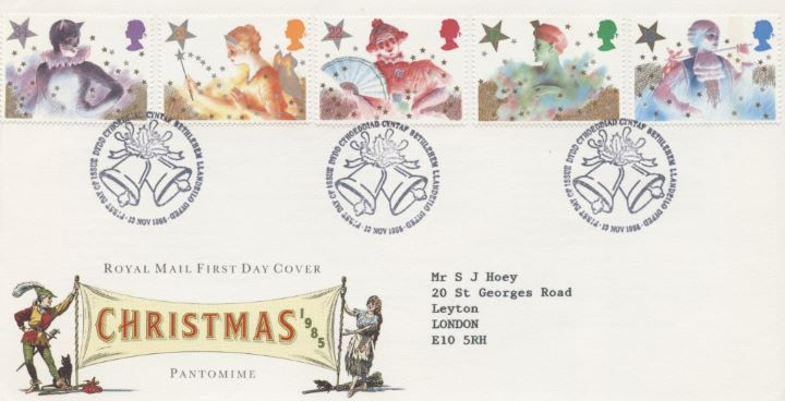 Christmas 1985, Special Handstamps